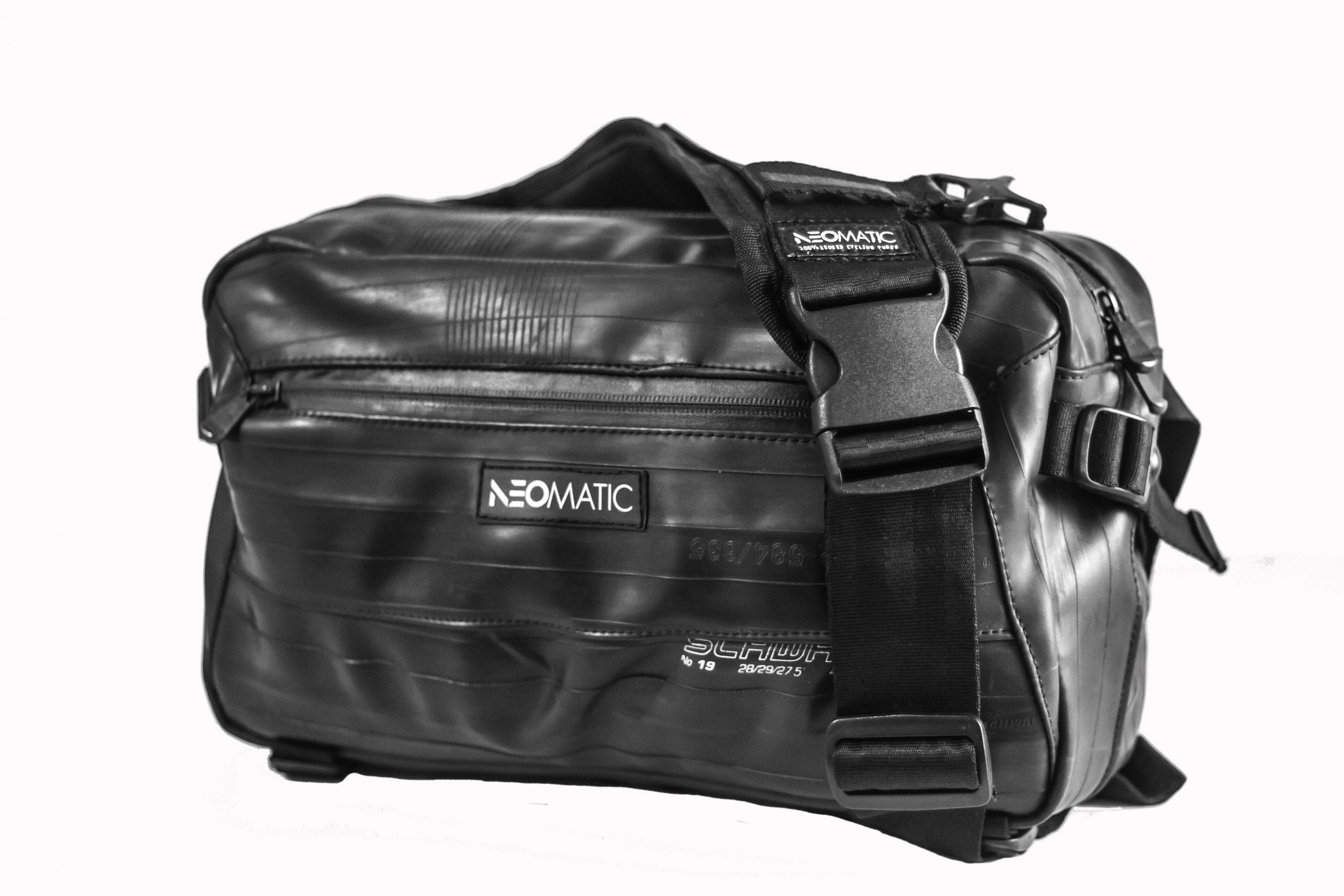 NeoMatic Asphalt Messenger Bag Sling Bag bolso de mensajero