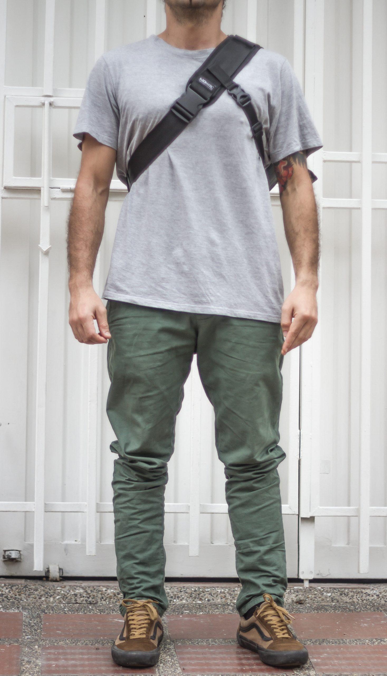 NeoMatic Asphalt Messenger Bag Sling Bag